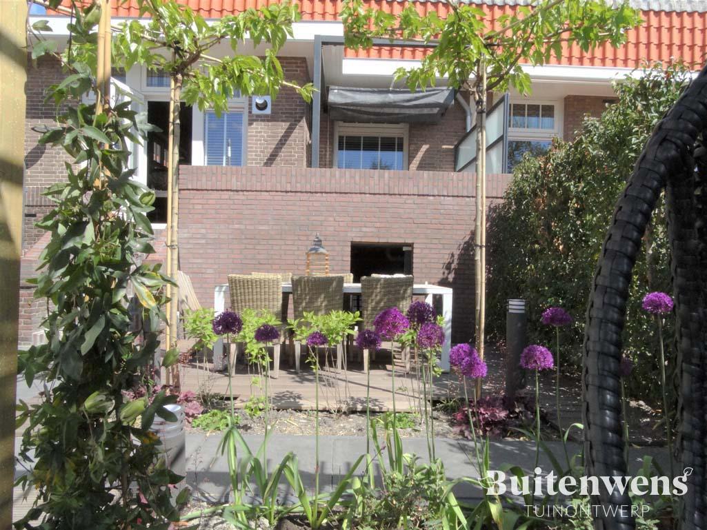 Buitenwens Heemskerk Tuin Ontwerp Tjarda en Guus Siebenga Hippe Vijvertuin