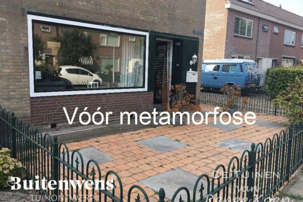 Buitenwens-Tuinontwerp-Heemskerk-Metamorfose-Versteende-Voortuin-Voorfoto